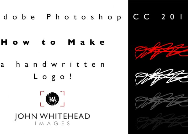 How to make your own hand written logo in Adobe Photoshop CC 2017 and turn it into a brush to easily use whenever. This is a very simple easy tutorial.