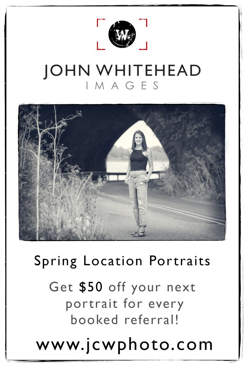 Spring Portraits and earn referral money.