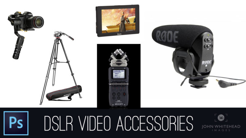 Video Accessories-For DSLR and Mirrorless Cameras