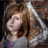 High Contrast Kids Portrait