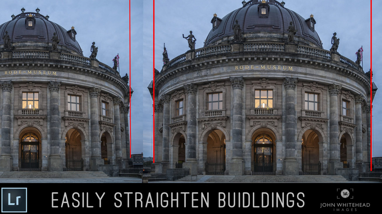 How to use use Guided Transform within Adobe Lightroom CC to straighten architectural lines in photographs.