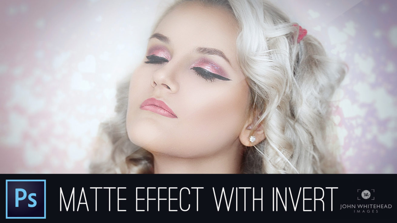How to create the matte effect or look in Adobe Photoshop CC.