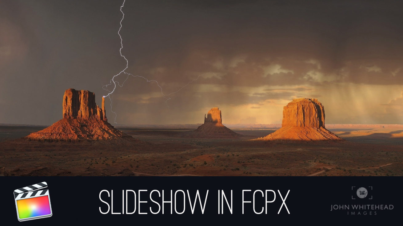 How to Create a Slideshow in Final Cut Pro