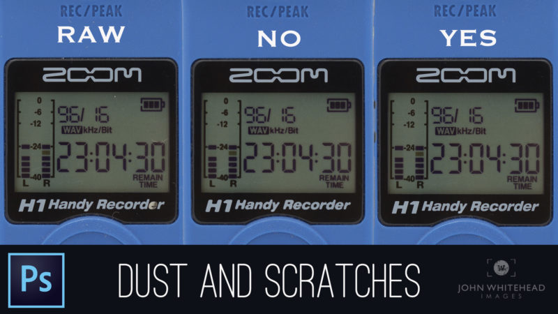 NEVER use Dust and Scratches in Adobe Photoshop