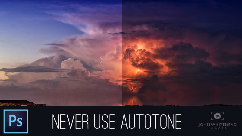 Never Use Autotone in Adobe Photoshop
