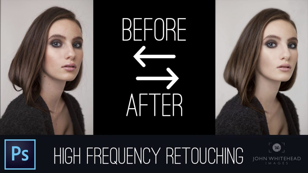 Professional high frequency retouching on portraits.