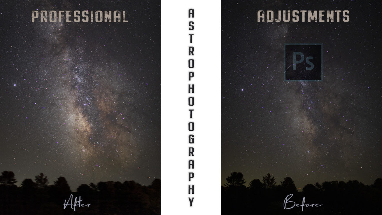 Editing Astrophotography with Photoshop